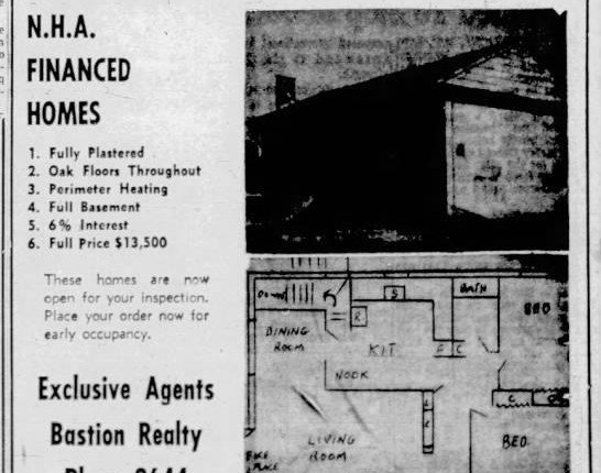Blast from the Past – Thoughts on a Home Ad from 1958!